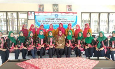 Pembinaan Administrasi dan Pelaksanaan 10 Program Pokok PKK Kec. Padamara