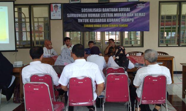 Sosialisasi Kegiatan Listrik Murah dan Hemat Untuk Keluarga Kurang mampu di Kab. Purbalingga
