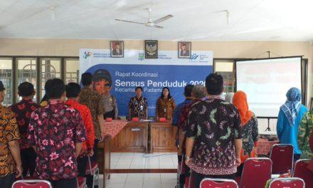 Rapat Koordinasi SP 2020 Tingkat Kecamatan Padamara